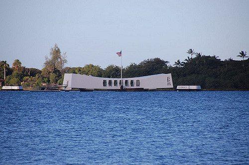 USS Arizona Memorial - Photo by Oakley Boren