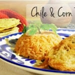 Chile and Corn Rellenos