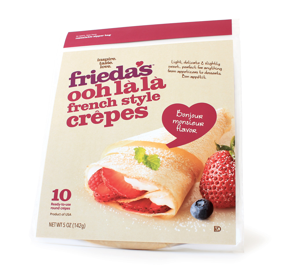 Frieda's French Crêpes Menu Image