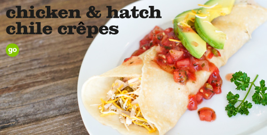 Frieda's Specialty Produce - Hatch Chile Crepes