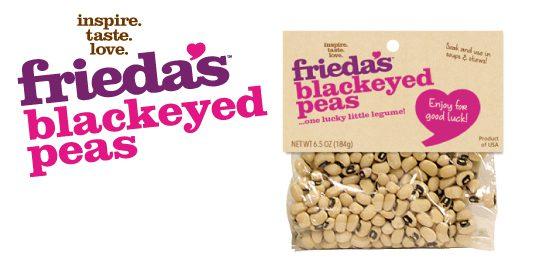Frieda's Specialty Produce - Blackeyed Peas