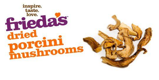 Frieda's Specialty Produce - Dried Porcini Mushrooms