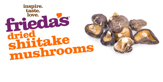 Frieda's Specialty Produce - Dried Shiitake Mushrooms