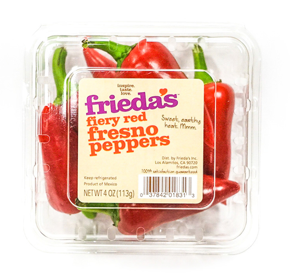Red Fresno Peppers Image