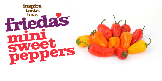 Frieda's Specialty Produce - Mini Sweet Peppers