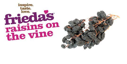 Frieda's Specialty Produce - Raisins on the Vine