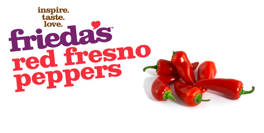 Frieda's Specialty Produce - Red Fresno Peppers