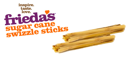 Frieda's Specialty Produce - Sugar Cane Swizzle Sticks
