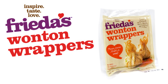 Frieda's Specialty Produce - Wonton Wrappers
