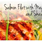 Oven-Steamed Salmon with Meyer Lemon and Shaved Fennel