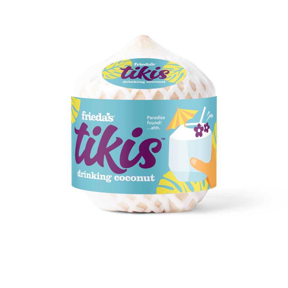 Tikis™ Drinking Coconut Menu Image