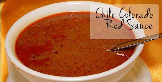 Chile Colorado (Red Chile Sauce)