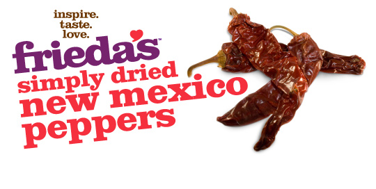 Frieda's Specialty Produce - Dried New Mexico Peppers