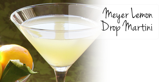 Frieda's Specialty Produce - Meyer Lemon Drop Martini