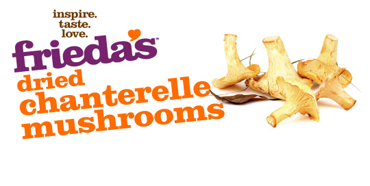 Frieda's Specialty Produce - Dried Chanterelle Mushrooms