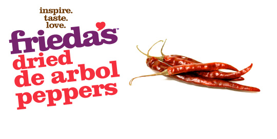 Frieda's Specialty Produce - Dried De Arbol Peppers