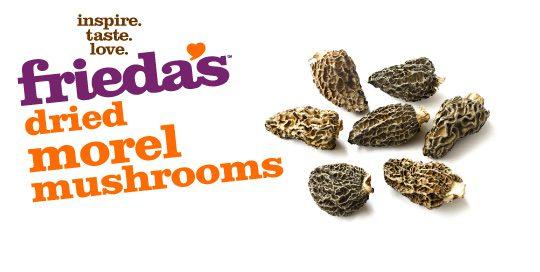 Frieda's Specialty Produce - Dried Morel Mushrooms