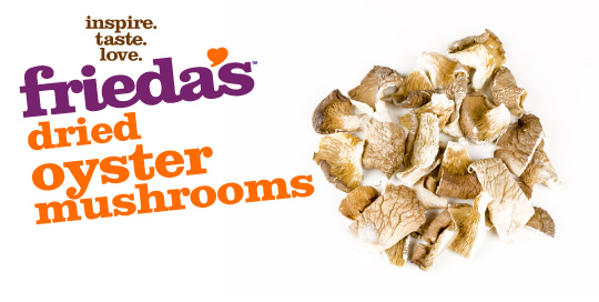 Frieda's Specialty Produce - Dried Oyster Mushrooms