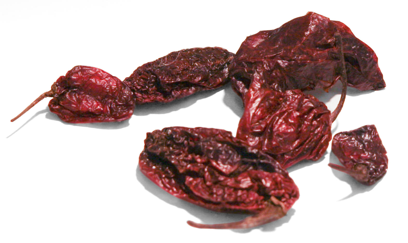 Dried Ghost Peppers Image