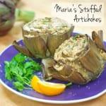Maria's Stuffed Artichokes