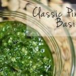 Classic Pine Nut-Basil Pesto