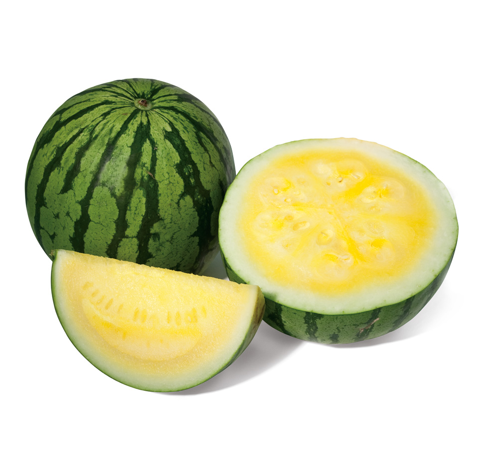 Yellow Seedless Watermelon Image