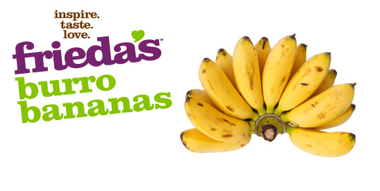 Frieda's Specialty Produce - Burro Banana