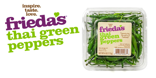 Frieda's Specialty Produce - Thai Green Peppers