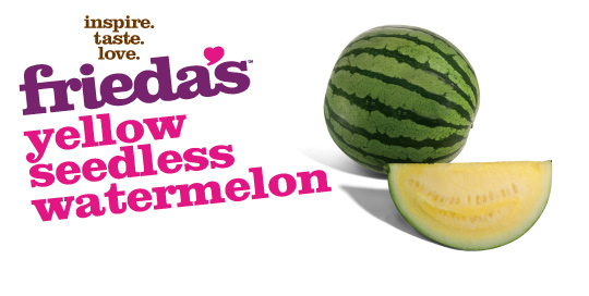 Frieda's Specialty Produce - Yellow Seedless Watermelon