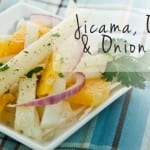 Jicama, Orange and Onion Salad