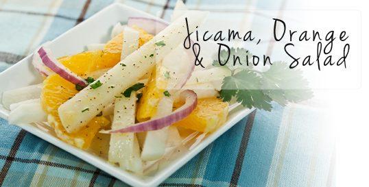 Frieda's Specialty Produce - Jicama Orange and Onion Salad