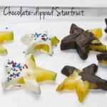 Chocolate-Dipped Starfruit