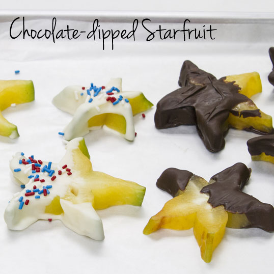 Frieda's Specialty Produce - Chocolate-dipped Starfruit