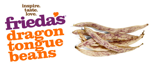 Frieda's Specialty Produce - Dragon Tongue Beans