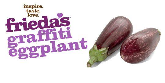 Frieda's Specialty Produce - Graffiti Eggplant