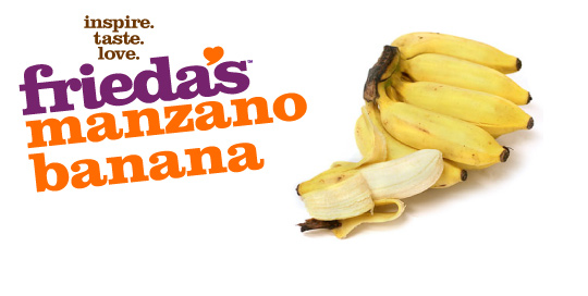 Frieda's Specialty Produce - Manzano Banana