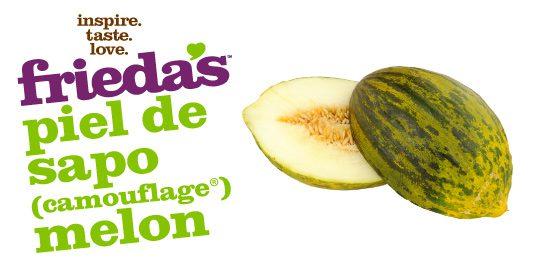 Frieda's Specialty Produce - Piel De Sapo Camouflage Melon