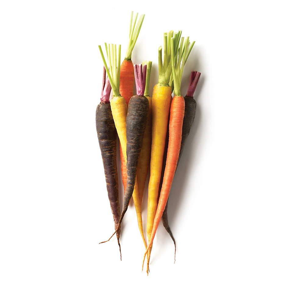 Baby Colored Carrots Image