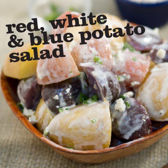 Frieda's Specialty Produce - Red, White & Blue Potato Salad