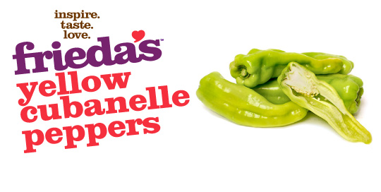 Frieda's Specialty Produce - Yellow Cubanelle Peppers