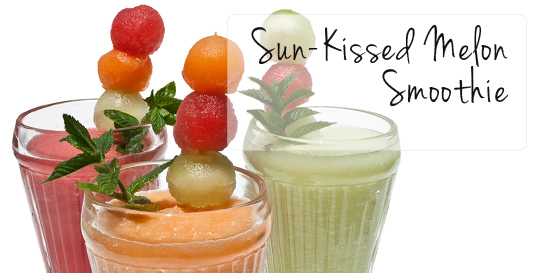 Sun-Kissed Melon Smoothie