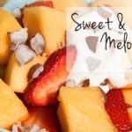 Sweet & Crunchy Melon Salad