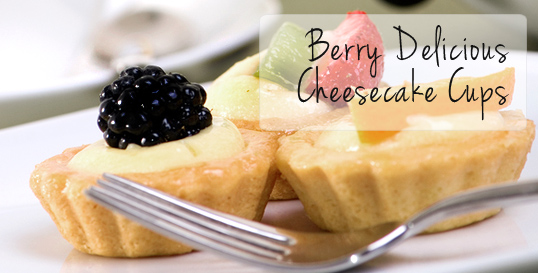 Berry Delicious Cheesecake Cups