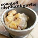 Roasted Elephant Garlic