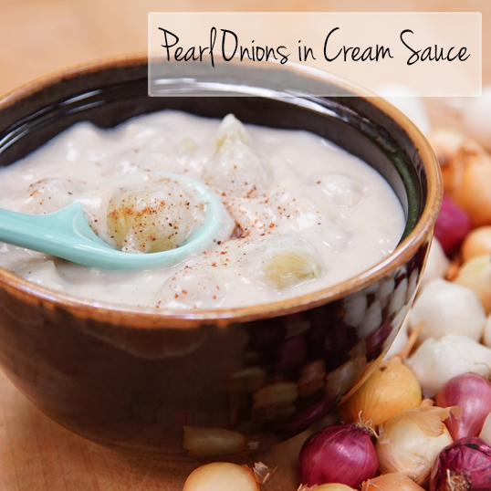 Frieda's Specialty Produce - Pearl Onion in Cream Sauce