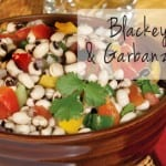 Blackeyed Pea and Garbanzo Salad