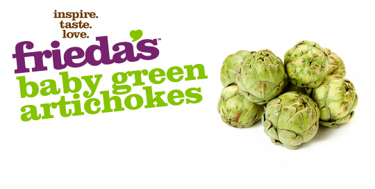 Frieda's Specialty Produce - Baby Green Artichokes