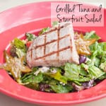 Grilled Tuna & Starfruit Salad