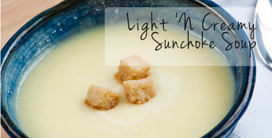 Light 'N Creamy Sunchoke® Soup