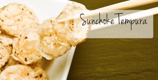 Sunchoke® Tempura